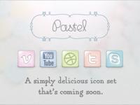 Pastel Icon Set Preview Part II