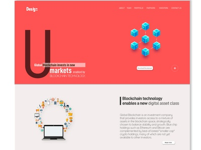 UI design for blockchain