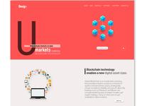UI design for blockchain