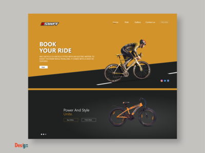 web Ui/UX Website design