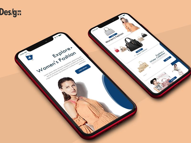 Iphone X ux ui interface web mobile design io app product design product fasion ux  ui ui deisgn app branding mobile