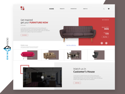 Furniture ui design