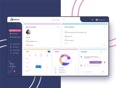 Human resource management  system animation mobile design design interface ui illustration ux product design product dashbord management  system management