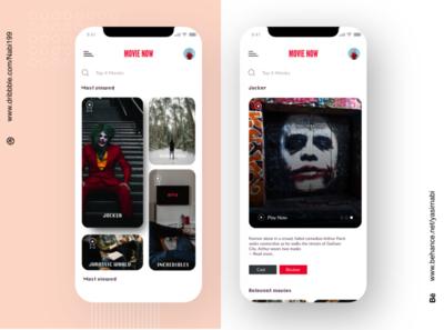 Online movie mobile app app character  illustration typography ui mobile design mobile design interface product design movie app mobile app movie mobile app