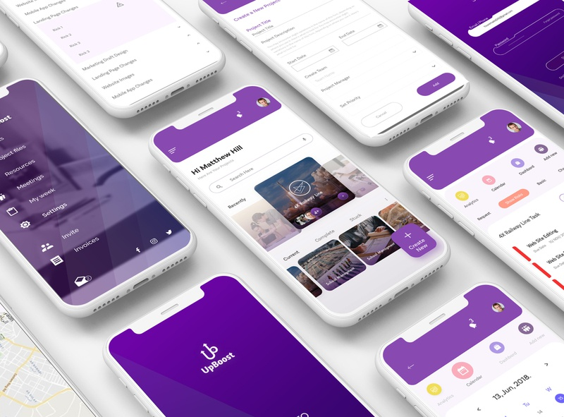 Project tracking ios app task management time sheet corporate branding corporate design minimalist ios app branding product designer mobile design design product design tracking app