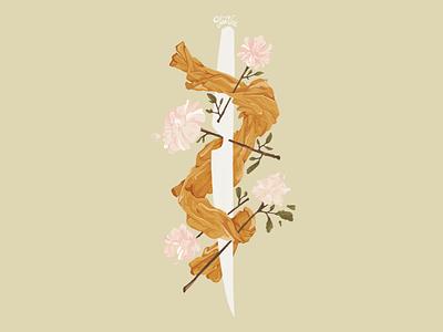 Bones digital art art illustration
