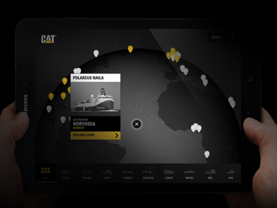 Caterpillar Fast Track app