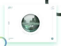23.小寒 Slight Cold:Whale(鲲) X Winter Water ---山海经