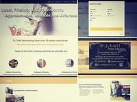 Painting & Decorating Website Design