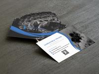 Infinite Vaping Business Card Design