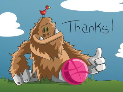A Yeti-Sized Thanks!