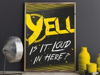 Yell the Band Poster