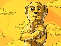 Meerkatz - Rough Sketch