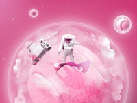 Lost in Dribbble Space