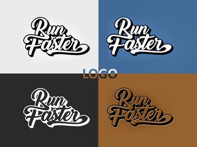 Run Faster (Logo)