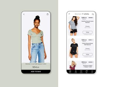 Fashion App UI/UX