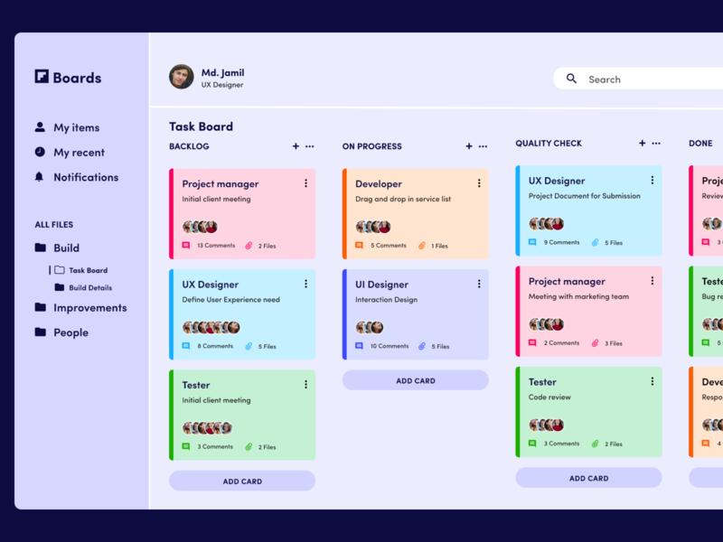 Boards | Agile Project Management Tool product project tool project management dashboard app ui design dashboard ui dashboad dashboard design minimal agile scrum website design uxdesign ux ui web page uxui