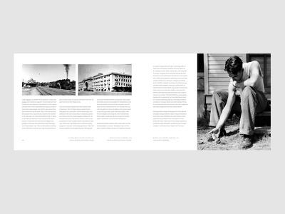 Book Spread [gif] print typography grid layout book