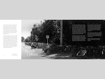 Book Spread – Bike Culture