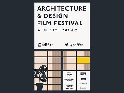 Poster Concept (2) poster illustration eames modernist architecture