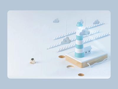 Dashly homepage mortgage ux ui simple web website design scroll animation clean webdesign website