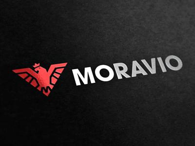 Moravio logotype logo brand logotype ci
