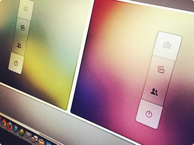 Quick Menu web free freebie gui ui menu rebound concept psd photoshop design
