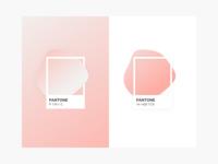 Pink Pantone gradients