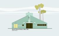 Vanna Venturi House Illustration