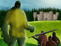 Book Cover – Die Riesenkriege