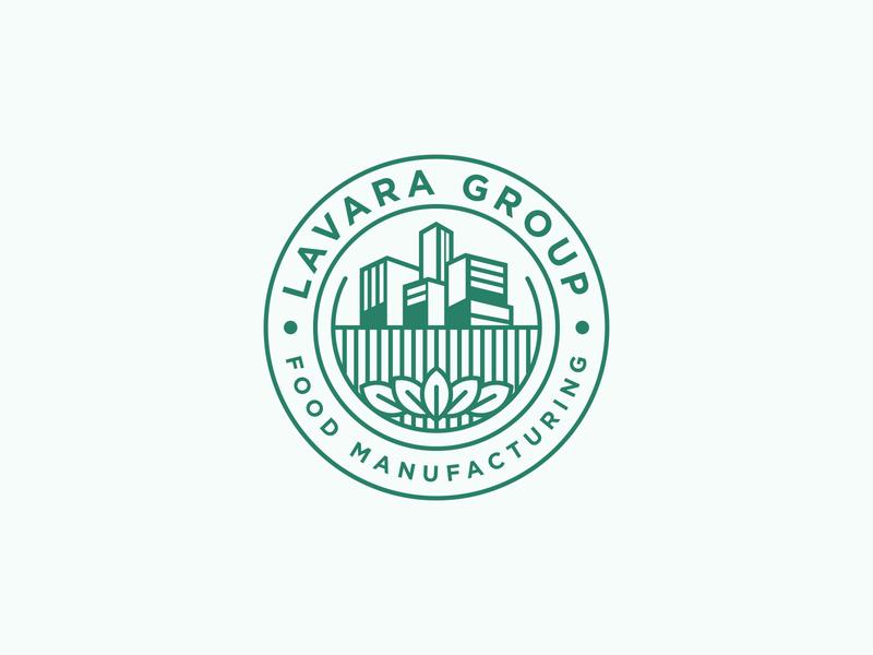 Lavara Group Food Manufacturing - Logo Design plantation peanut manufacturing logodesign logo green food clean design brand identity