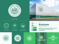 Lavara Group - Brand Identity logodesign plantation peanut green food manufacturing design clean logo brand identity