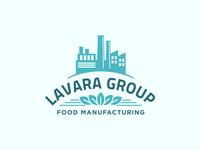 Lavara Group - Alternative Logo green clean design food logo plantation peanut logodesign manufacturing brand identity