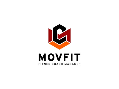 MOVFIT Fitnes Coach Manager - Logo Design brand guidelines logodesign logo guidelines digital style guide corporate identity clean logo branding brand identity