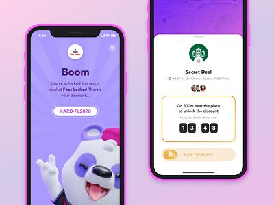 Kard iOS teen bank ux ui product design ios app application