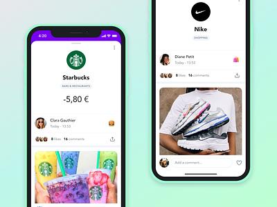 Kard iOS teen bank product ux ui design ios app application