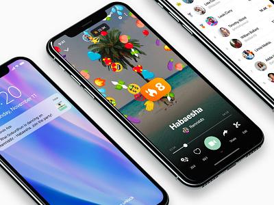 Shake iOS shake music design application app ios