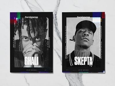 Foreignrap 2.0 vhs tv underground music rap identity branding
