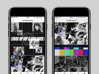 Foreignrap 2.0 is coming for you. app music instagram mobile