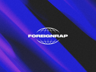🌐 Foreignrap art music rap logo branding