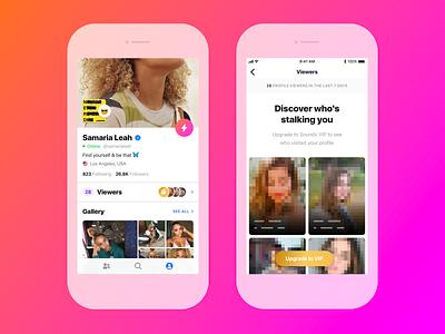 📱 Sounds Viewers ios application mobile design ui ux app music