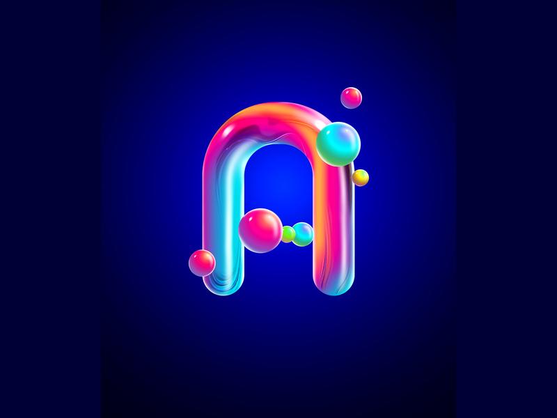 Amorphous dribbbleshot dribbble photoshopcc illustrator cc adobe instagram typography design type 36days 36daysoftype
