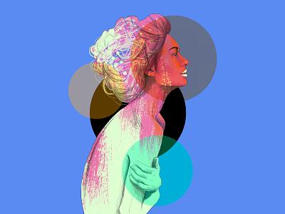 Portrait portrait instagram models design art fasion love drawing illustration