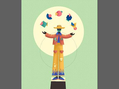 Master with shapes adobe design instagram illustrator cc vector love drawing art digital illustration