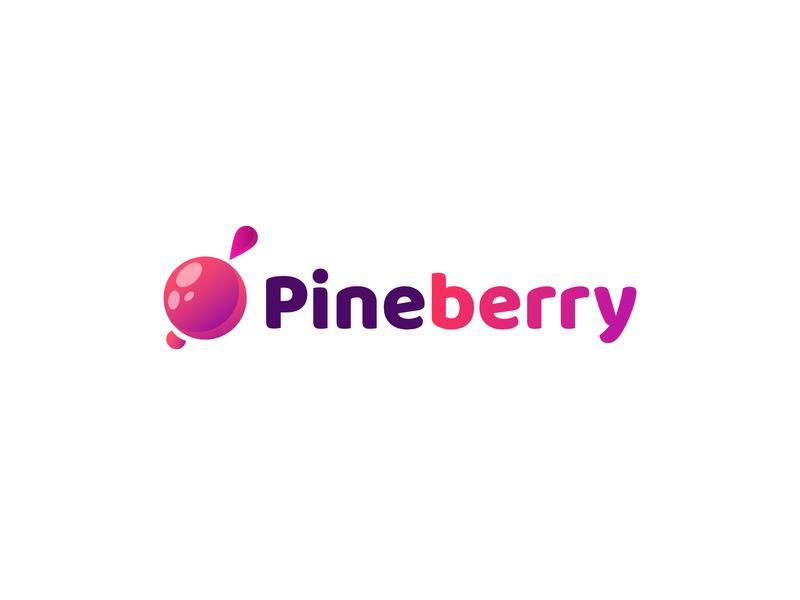 Pineberry logo | logo design logos berry top designers best logo design logo inspiration best logo logo freelancer logo freelance designer logo designer logodesigner logodesign logo design logotype logo