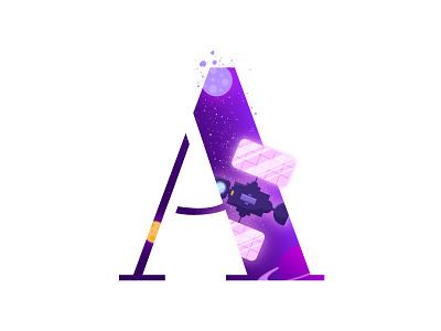 A Logo   Alphabet   Space   Letter letters logotypedesign logotype a letter alphabets alphabet typography alphabet logo alphabet lettering typography art typography logo typography letter art