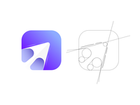 Arrow logo / browser logo / logotype / branding arrows arrow logo arrow logotypedesign logotype designer logotype design logodesign logotypes logos logo design uiux webdesign web browser icons design icon branding design branding logotype logo