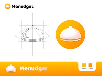 Menudget app logo logo designers logo design concept logodesign logotype branding logo design branding freelancer logo freelancer uiuxdesigner logo designer logo design app ux uiux app uiux app ui app app logo logo