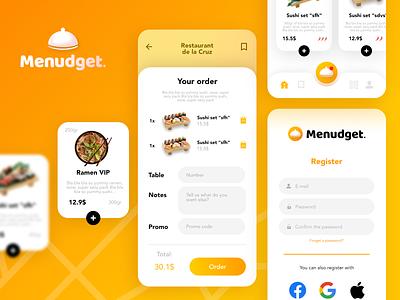 App uiux Menudget app design best uiux best ui top ui top ux ui designer app ui ux app ui uiux app designer app app uiux