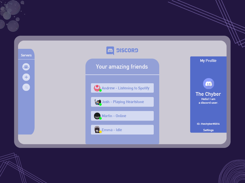 Discord Website Design by Ch David on Dribbble